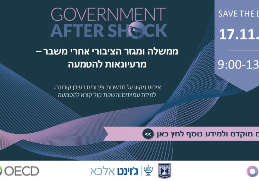 Government After Shock – From Ideation to Implementation