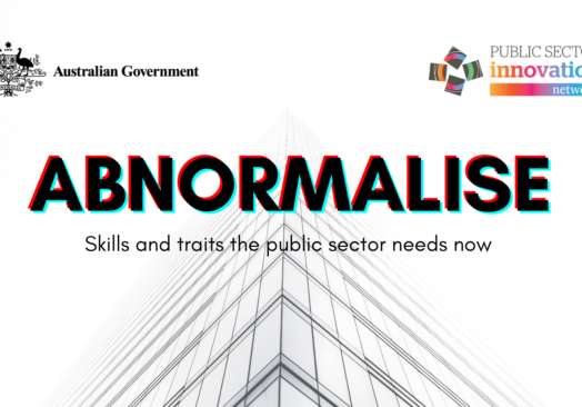 Abnormalise – skills and traits the public sector needs now