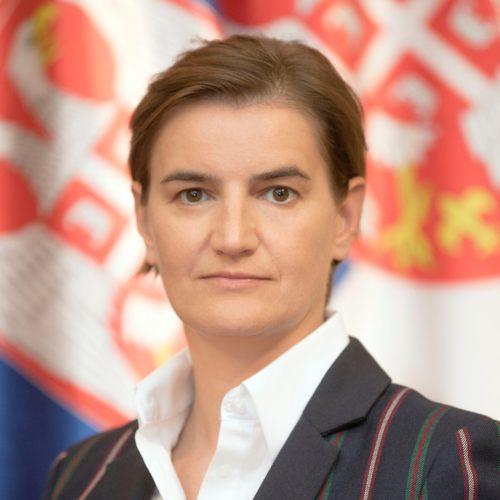 Prime Minister Ana Brnabić