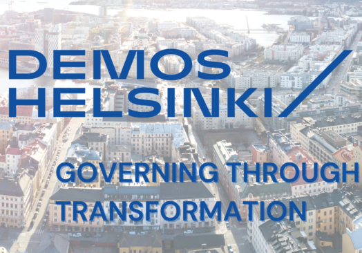 Governing through transformation – The case of Finland's governance reforms