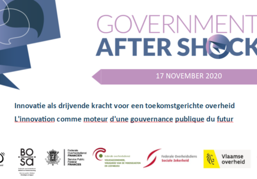 Gov after Shock: Innovation as the driving force for a future-oriented government